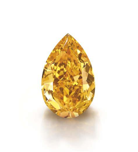 0 25 cts Fancy Diamond Fancy Vivid Orange Diamond Pear Natural Fancy F