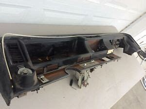 1970 72 Oldsmobile Olds Cutlass 442 W 30 W 31 Supreme Dash Pad With Da
