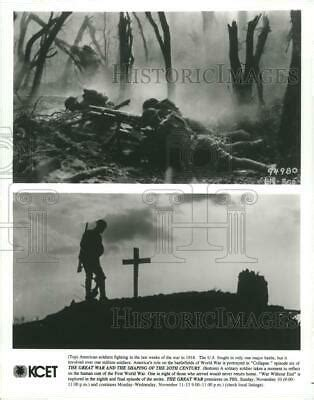 1996 Press Photo A scene from The Great War And The Shaping Of The 20t