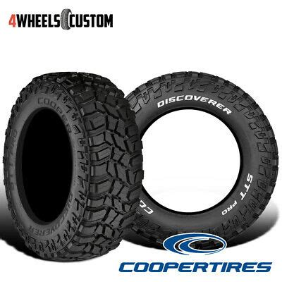 2 New Cooper Discoverer STT Pro 33 12 5 15 108Q Off Road Traction Tire