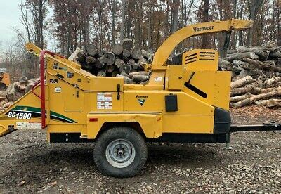 2016 Vermeer BC1500XL with Hydraulic Winch 3036