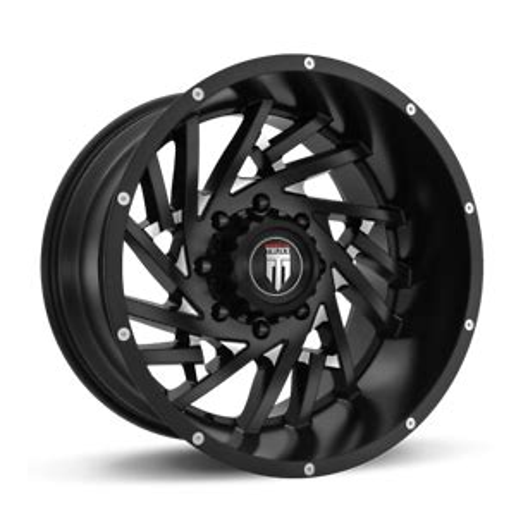 4 American Truxx AT161 Web 20x12 5x5 44mm Black Milled Wheels Rims 20