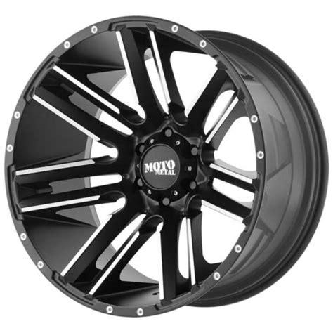 4 Moto Metal MO978 18x9 5x5 18mm Black Machined Wheels Rims 18 Inch