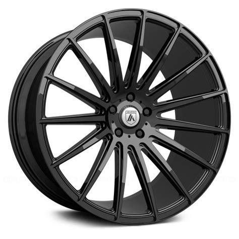 4ea 20 Staggered Asanti Wheels ABL 14 Polaris Gloss Black Rims S1