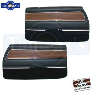 71 72 Cutlass Supreme Front Door Rear Quarter Trim Panels PUI Please R