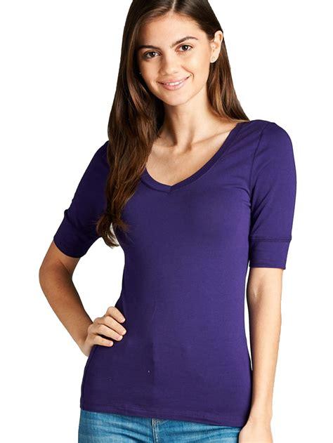 A New Day Women Blue Short Sleeve T Shirt S