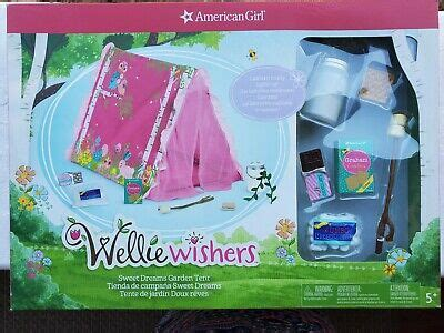 American Girl Wellie Wishers Sweet Dreams Garden Tent Backordered Fast