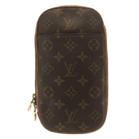 Auth LOUIS VUITTON Pochette Gange M51870 Monogram CA1001 Backpack