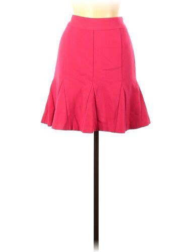 Banana Republic Women Pink Casual Skirt 6