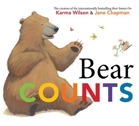 Bear Counts ExLib by Karma Wilson