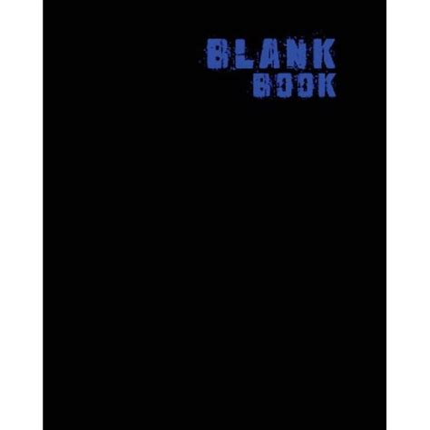 Blank Book White Blank Book 8x10 50 Pages