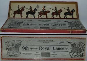 Britains Pre War Set 24 9th Queens Royal Lancers 1903 Version AA 10837