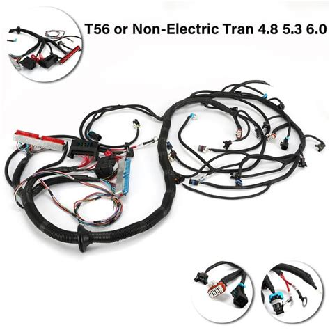 DBC LS1 STANDALONE WIRING HARNESS T56 or Non Electric Tran 4 8 5 3 6 0