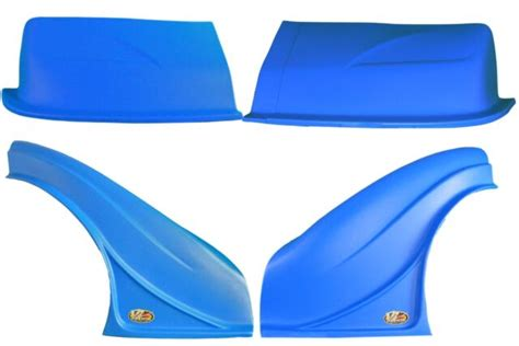 DOMINATOR RACING PRODUCTS D2X Dirt Nose Flares Blue 2200 BL