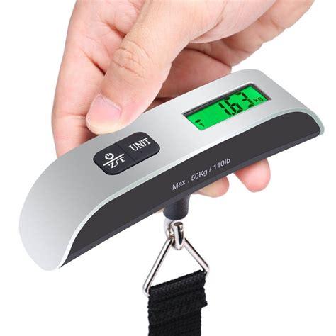 Digital 50KG Travel Portable Handheld Weighing Luggage Scales Suitcase