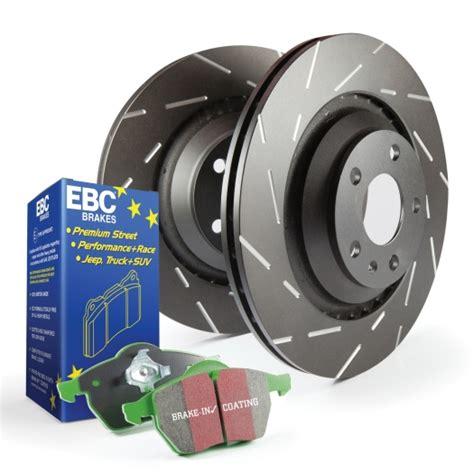 EBC Brakes S2KR1890 S2 Kits Greenstuff 2000 and USR Rotors