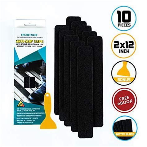 EHS Retailer Anti Slip Tape Waterproof Pre Cut 10 Pieces 2 x 12inchs S