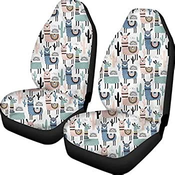 FOR U DESIGNS 2pc Universal Front Seat Cover Bucket Seat Cover Follow