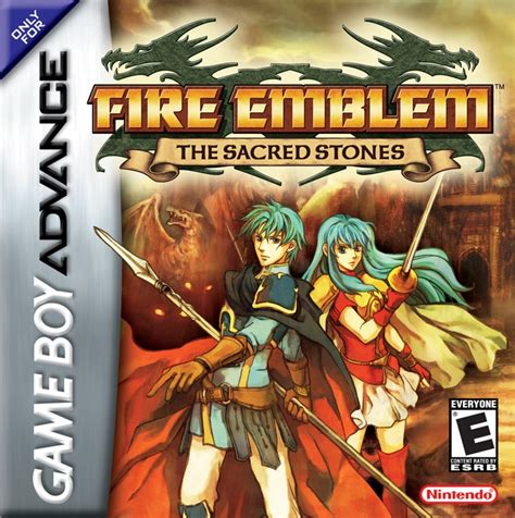 Fire Emblem The Sacred Stones Official Nintendo Players Guide Game boy