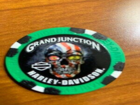 Grand Junction Harley Davidson Grand Junction CO Collector Poker Chip
