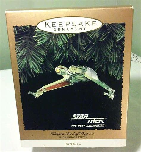 Hallmark 1994 Star Trek The Next Generation Klingon Bird Of Prey Ornam