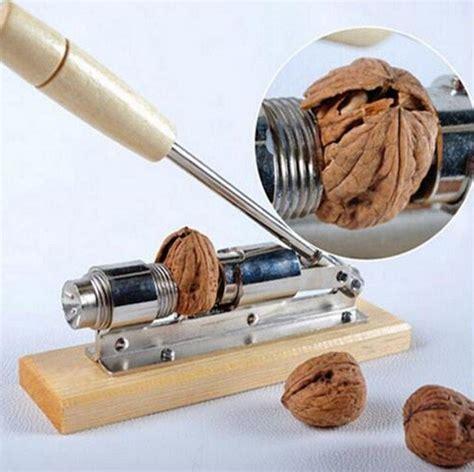 Heavy Duty Nut Cracker Pecan Walnut Nutcracker Sheller Opener Machined