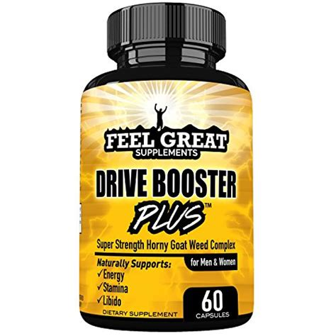 Horny Goat Weed Supplement for Women and Men a Natural Energy Booster