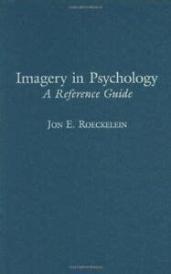 Imagery in Psychology A Reference Guide Hardcover by Roeckelein Jon E