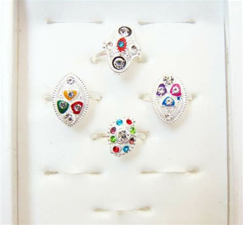 Indian Wedding Bichiya ADJUSTABLE 4Pcs Toe Rings Silver Tone Toe Ring