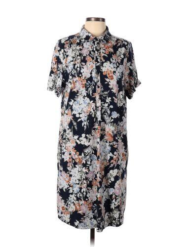 J Jill Women Blue Casual Dress S