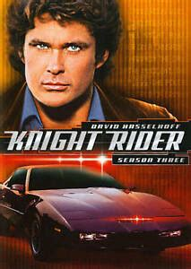 Knight Rider Seasons Three Four 3 4 DVD 6 Disc Set David Hasselhoff