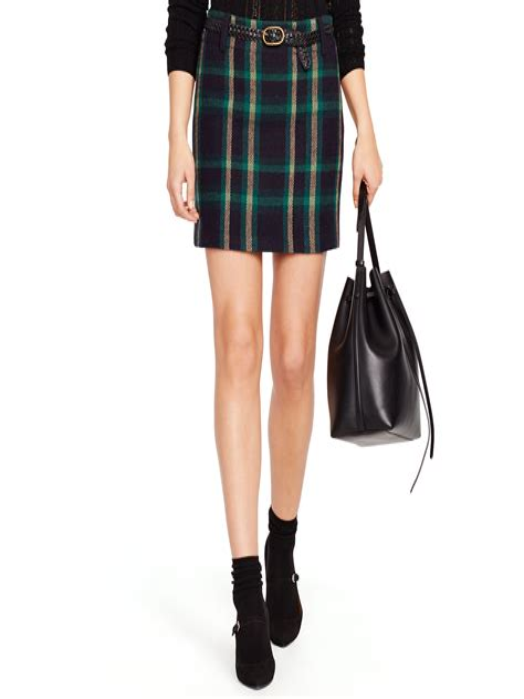 LAUREN Ralph Lauren Wool Lined Short Skirt Size 2