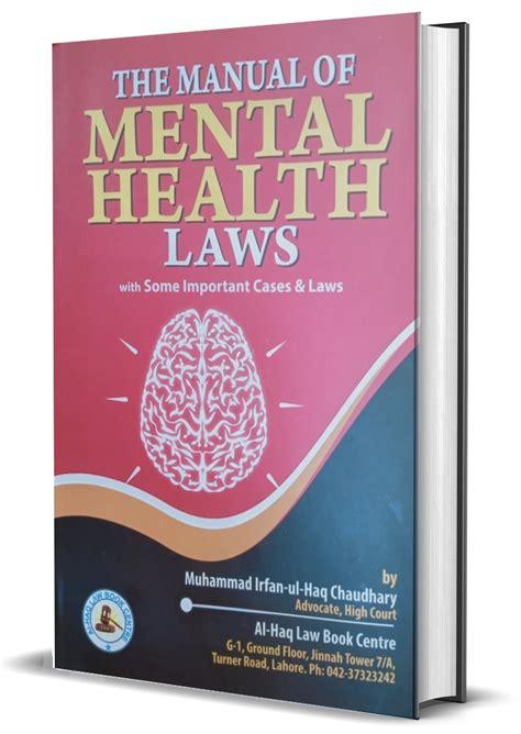 Manual of Health Laws