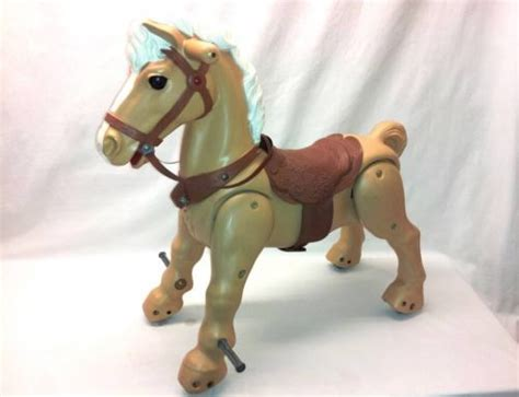 Marx MARVEL THE MUSTANG Vintage Toy 1960s RIDE ON HORSE Pony Missing S