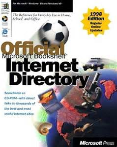 Microsoft Bookshelf Internet Directory By Microsoft Press Microsoft Co