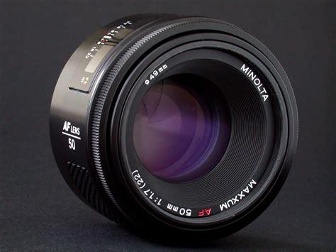 Minolta Maxxum AF 50mm Prime f 1 7 Camera Lens