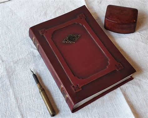Monogram Snake Notebook Blank Journal Diary Log