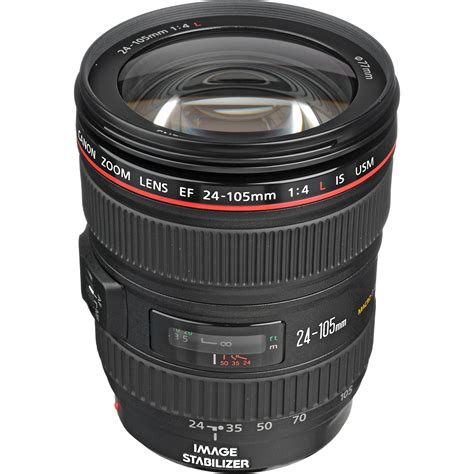 New Canon EF 24 105mm f 4L IS II USM White Box