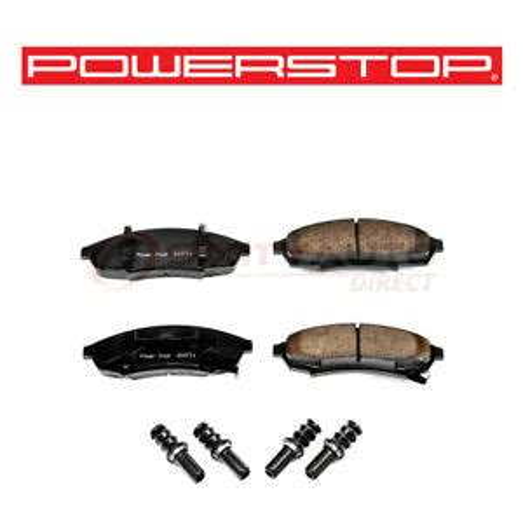 Power Stop Z17 Evolution Plus Disc Brake Pad for 1989 Pontiac Firebird