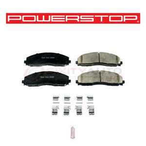 Power Stop Z17 Evolution Plus Disc Brake Pad for 2012 2017 Ford F 250
