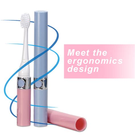 Sonic Electric Toothbrush With Battery for Kids and Adults Slim Portab