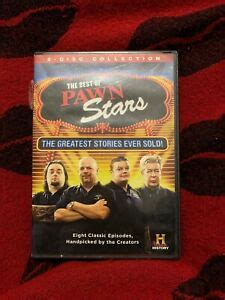 The Best of Pawn Stars Greatest Stories Ever Sold DVD 2 Disc DISC ONLY