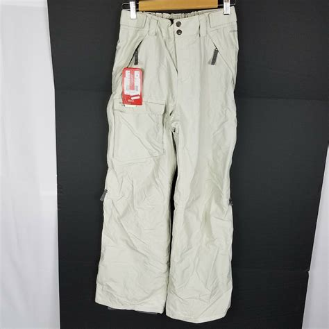 The North Face Womens Size Medium Gray Hyvent Ski Snowboard Snow Pants