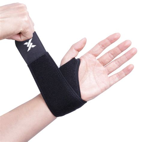 Thx4COPPER Wrist Support Copper Infused Compression Sleeve Adjustable