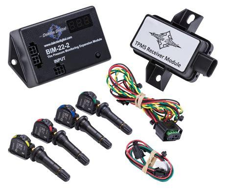 Tire Pressure Monitoring System TPMS for Dakota Digital HDX Systems BI