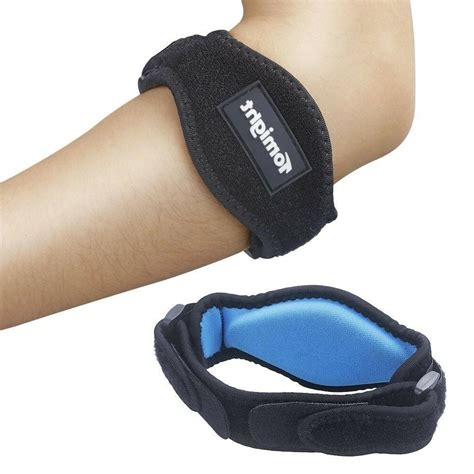 Tomight 2 Pack Elbow Brace Tennis Elbow Brace with Compression Pad Uni