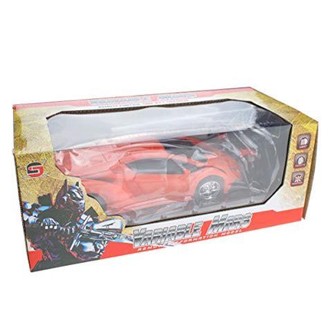 Totola Remote Control Transform Robot Kids Toys Electronic RC Robot Or