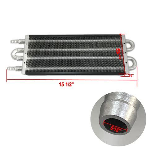Universal Oil Transmission Power Steering Cooler Kit 12 X 7 5 X 0 75 I