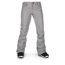 VOLCOM Pinto Snowboarding Pants Womens Size XS Grey NEW NWT