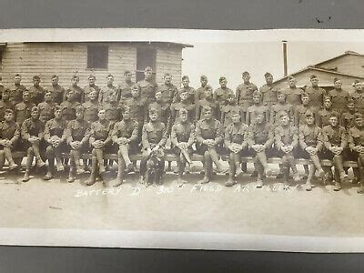 WWI Panoramic Photo Deming New Mexico Adjacent Camp Cody 1917 57 Long